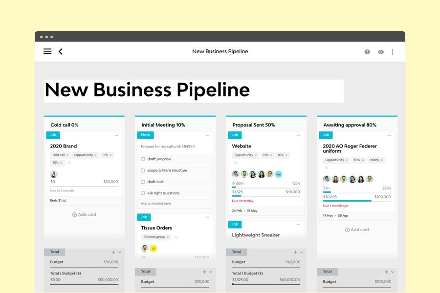 Screenshot Of Streamtime Priorities