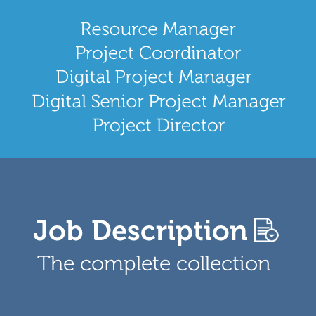 project management office job descriptions agency digital project manager - Agency Manager