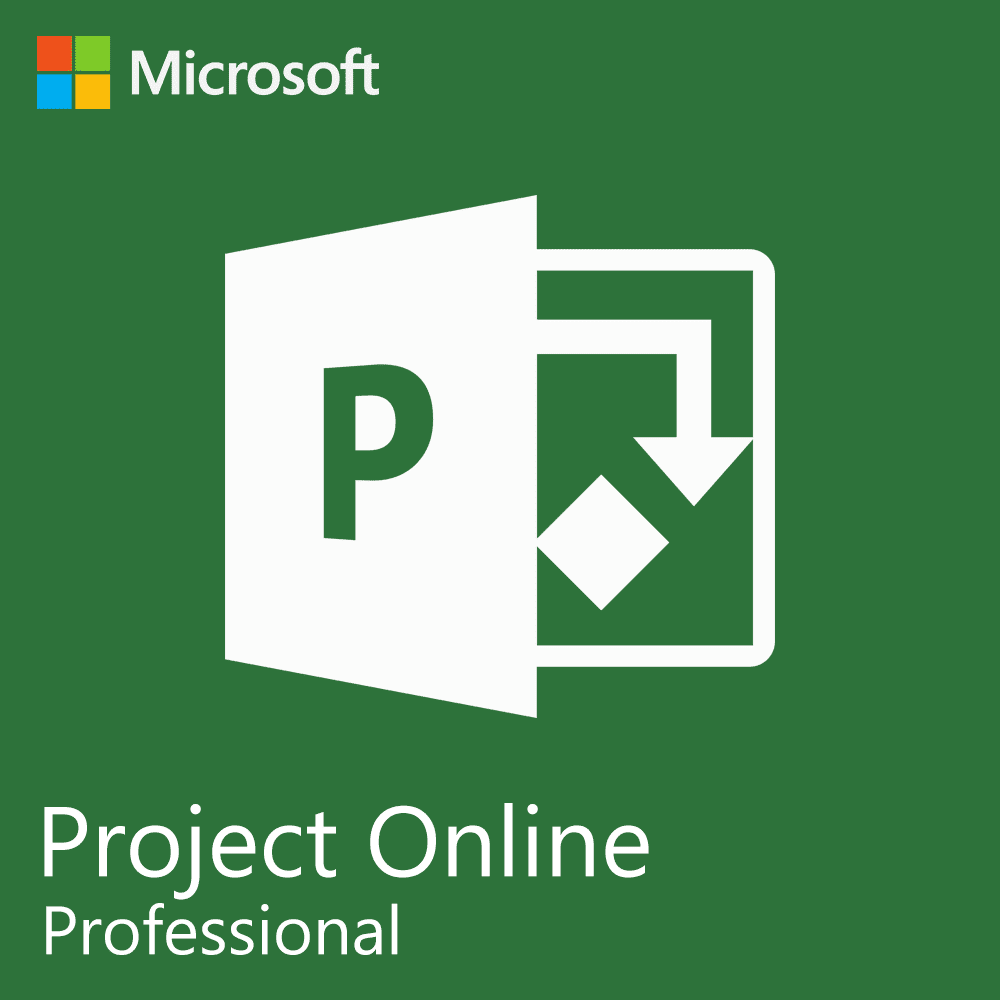 Microsoft Project Online Professional - logo - project management software