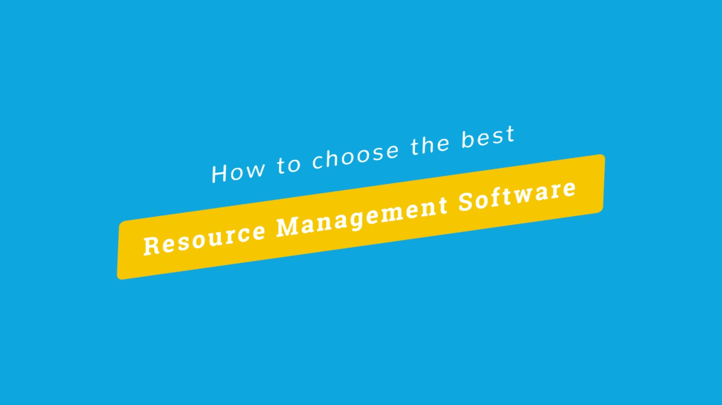 How to choose Resource Management Software cover