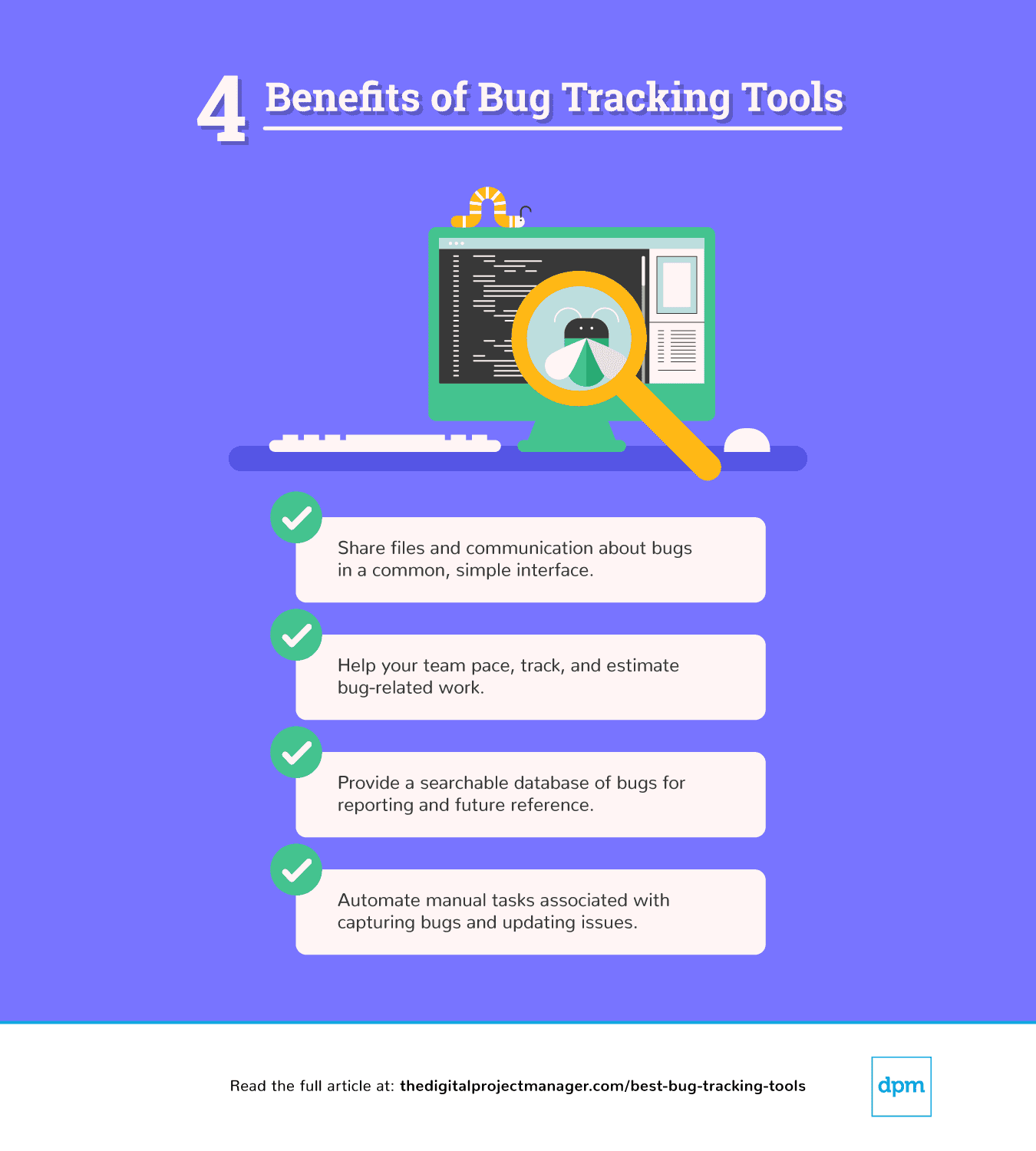 Benefits of bug tracking tools