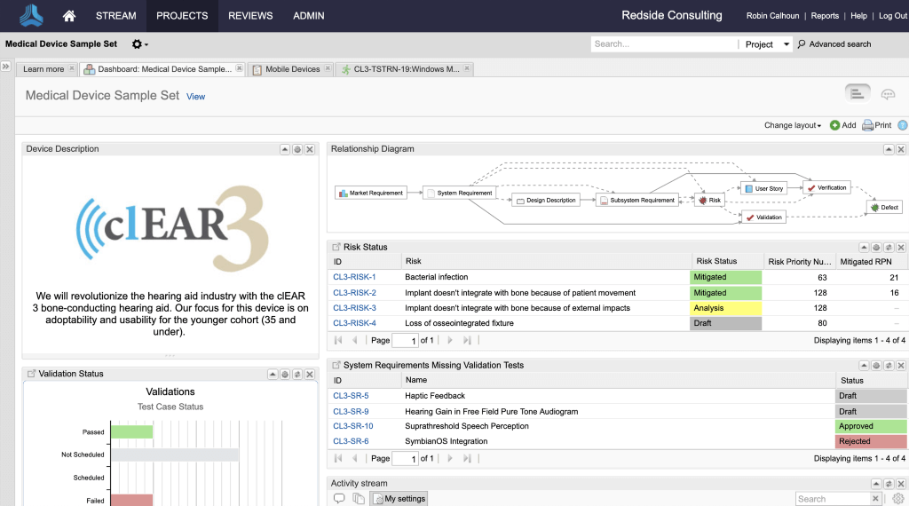 Jama Software screenshot - The Best Requirements Management Tools of 2020