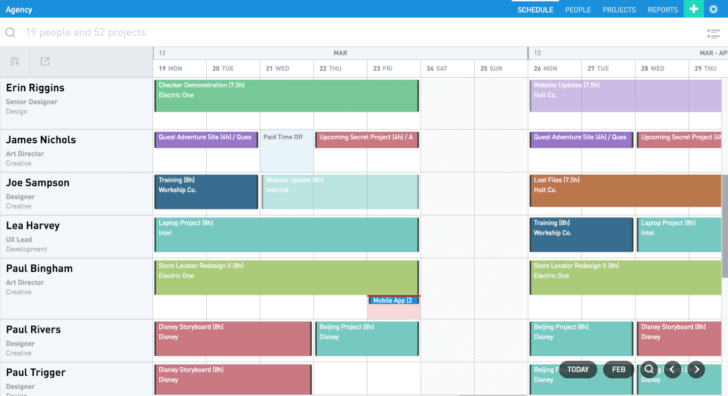 Float - Resource Scheduling For Teams