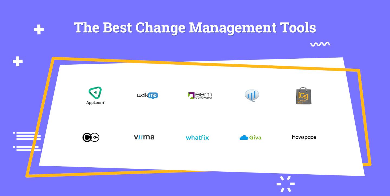 Change Management Tools Logo Soup