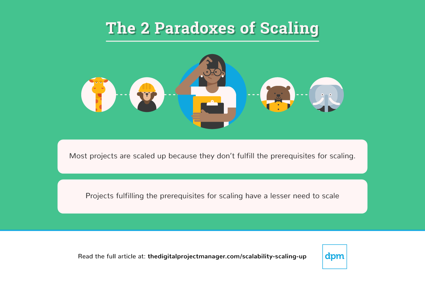 the 2 paradoxes of scaling
