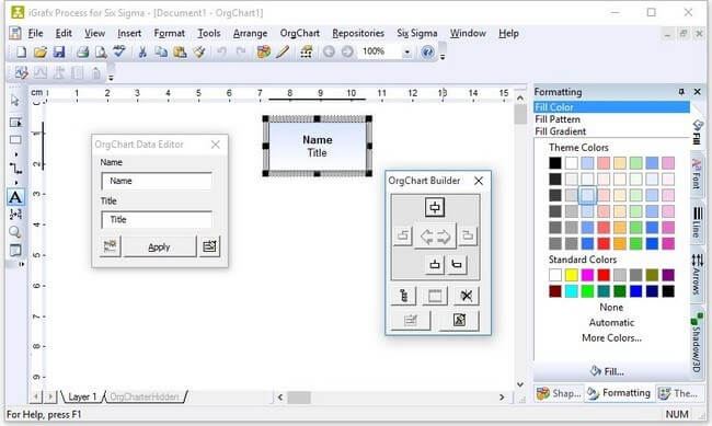 iGrafx screenshot - Top 10 BPMS (Business Process Management Systems) In 2020