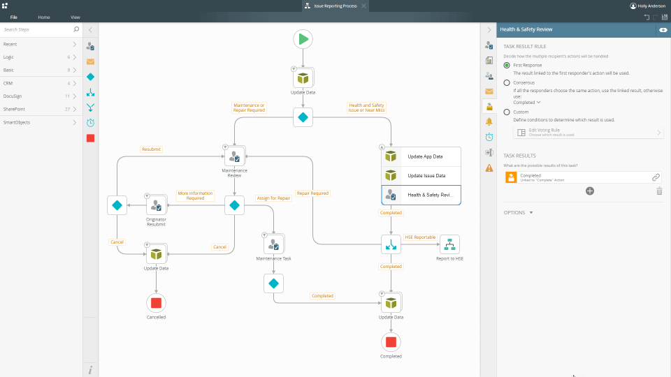 K2 Platform screenshot - The Best BPM Tools & Process Analysis Tools To Try in 2020