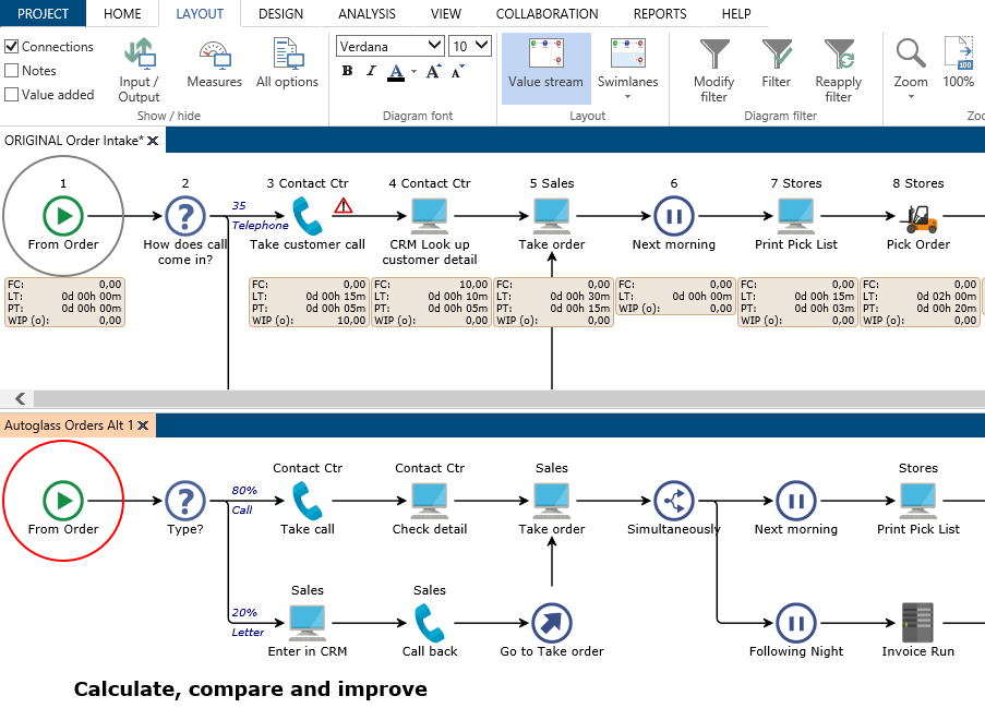 Engage Process screenshot - The Best BPM Tools & Process Analysis Tools To Try in 2020