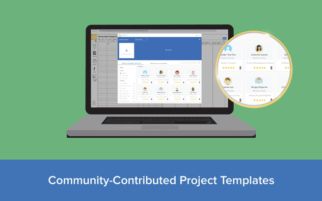 Community contributed project templates image