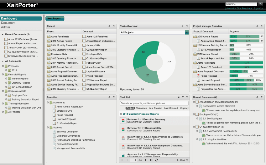 Xait screenshot - <thrive_headline click tho-post-34528 tho-test-152>Best Proposal Management Software Tools To Win New Business</thrive_headline>