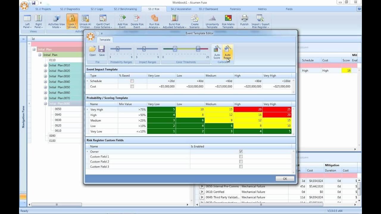 Acumen Risk screenshot - The Best Risk Management Software for Enterprises and Midsize Businesses