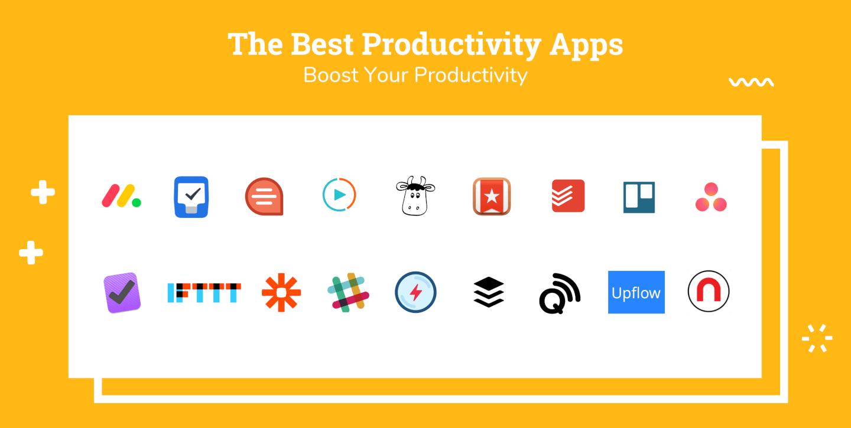 Productivity Apps Logo Soup