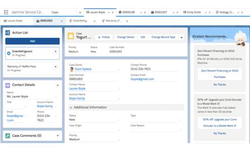 Salesforce Client Database Tool Screenshot