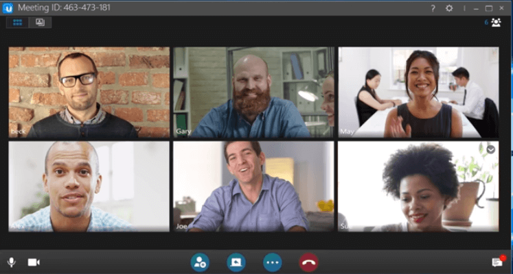 uMeeting screenshot - <thrive_headline click tho-post-35550 tho-test-149>The Best Video Conferencing Software To Host Your Remote Meetings In 2020</thrive_headline>