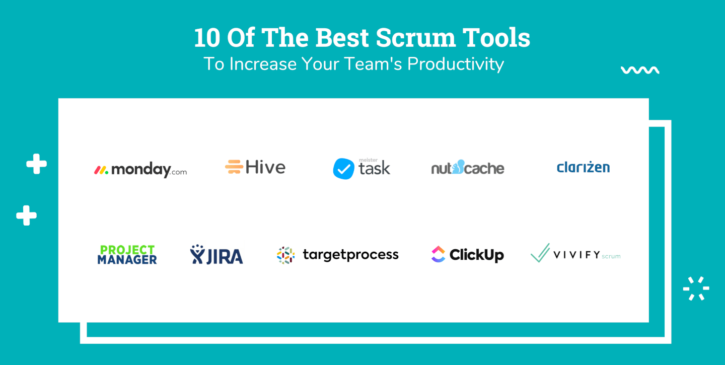 Logo Soup of Scrum Tools