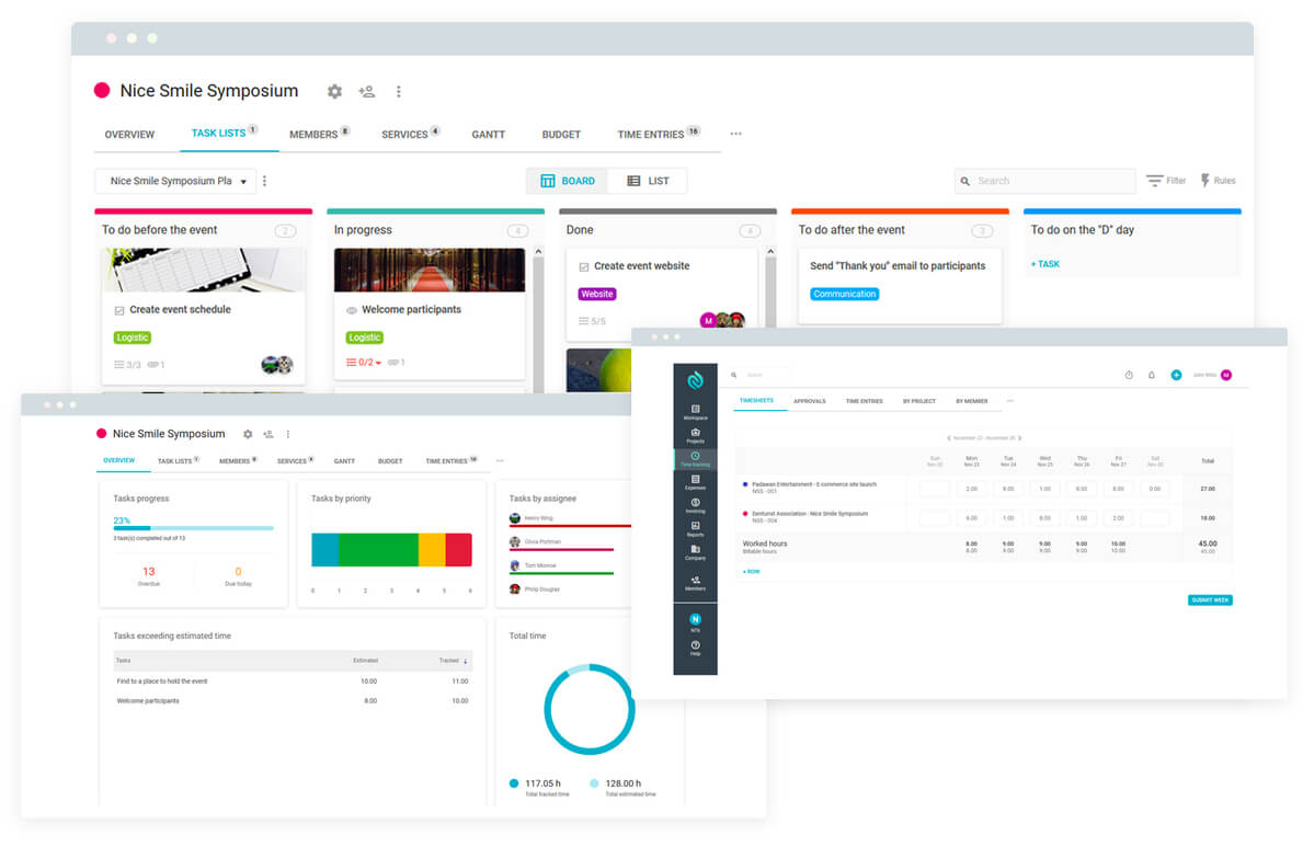 Nutcache screenshot - Compare The 15 Best Project Management Software Of 2021