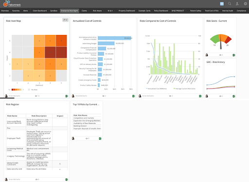 Riskonnect screenshot - The 10 Best GRC Tools to Navigate Risk and Compliance Concerns for Public Companies