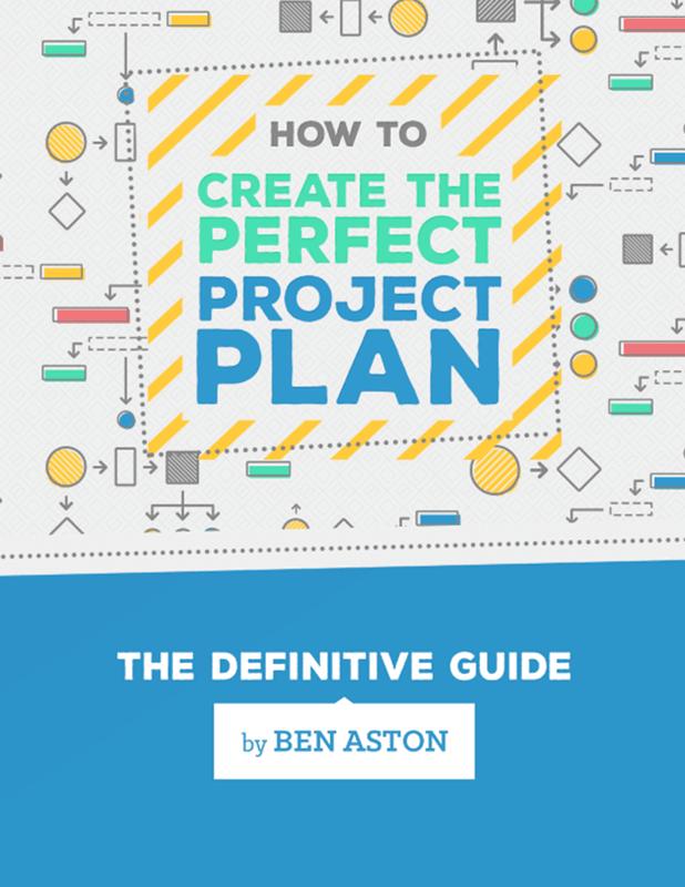 Project plan ebook screenshot