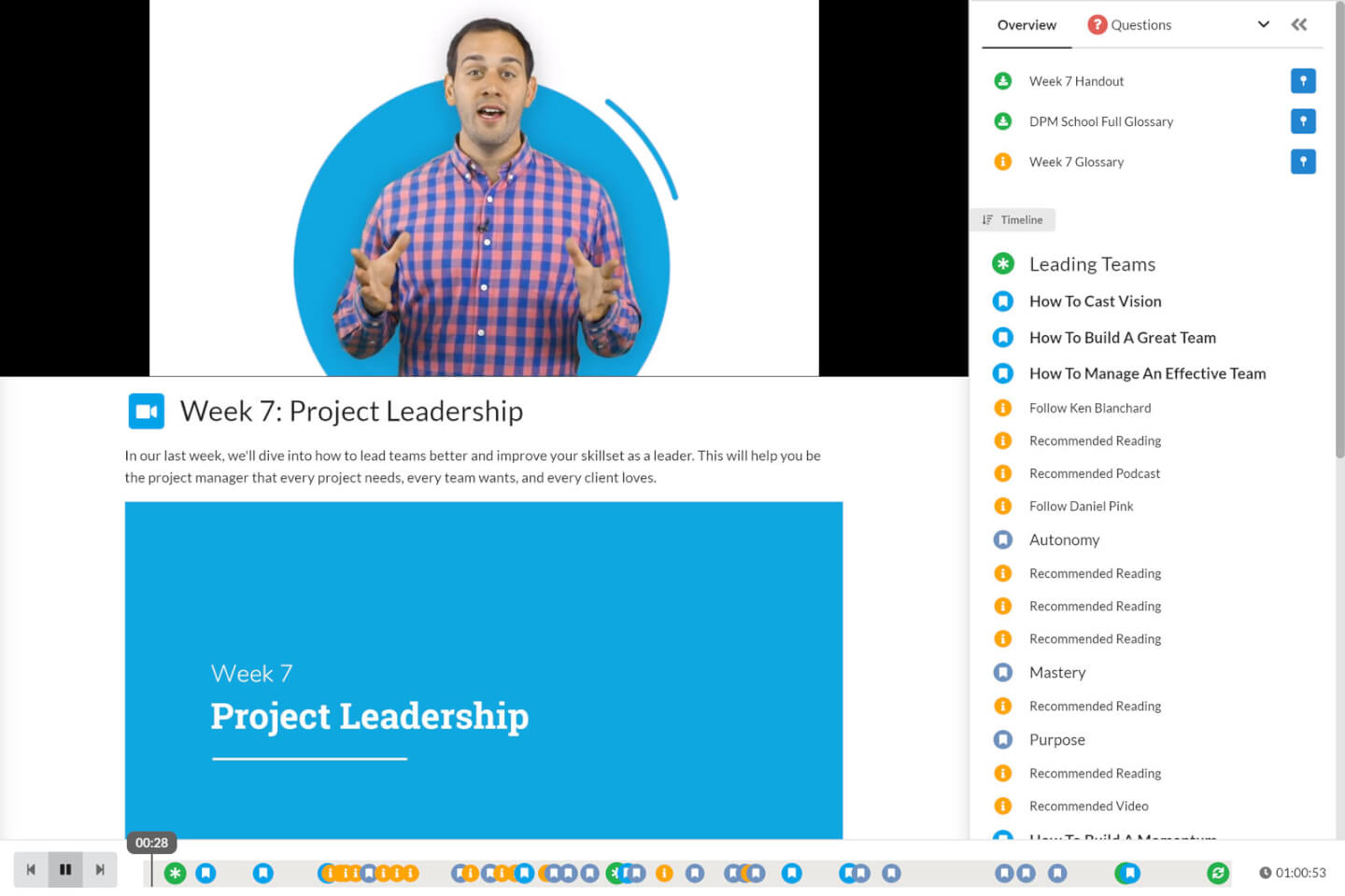 DPM School Leadership Screenshot