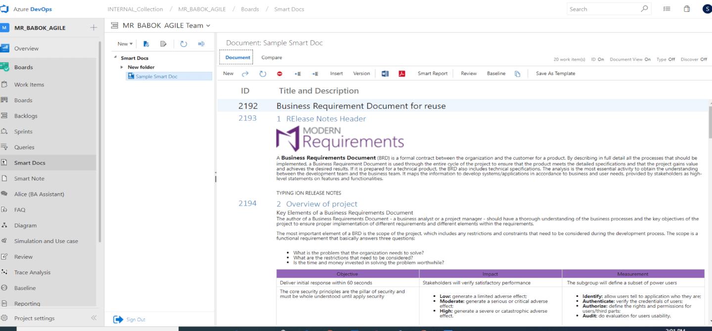 smart docs review management screenshot