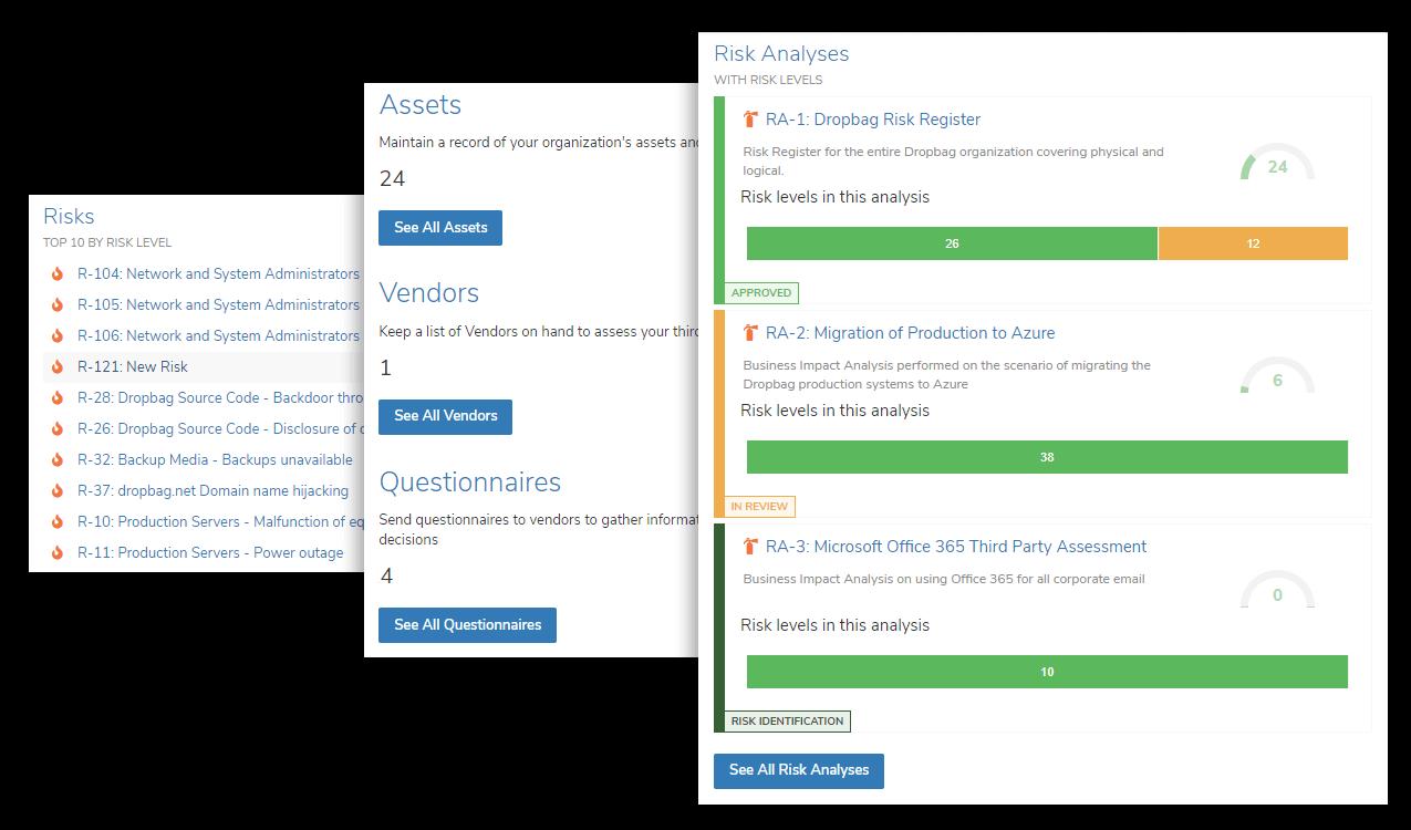 StandardFusion screenshot - The Best Risk Management Software for Enterprises and Midsize Businesses