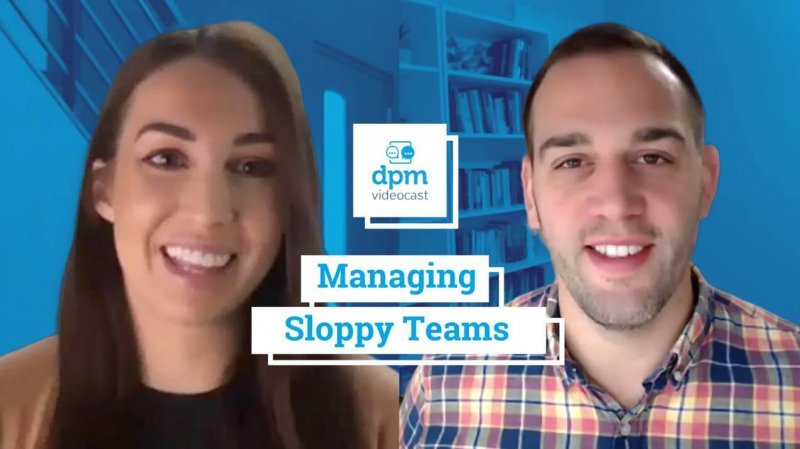 Videocast How to Manage Sloppy Teams screenshot