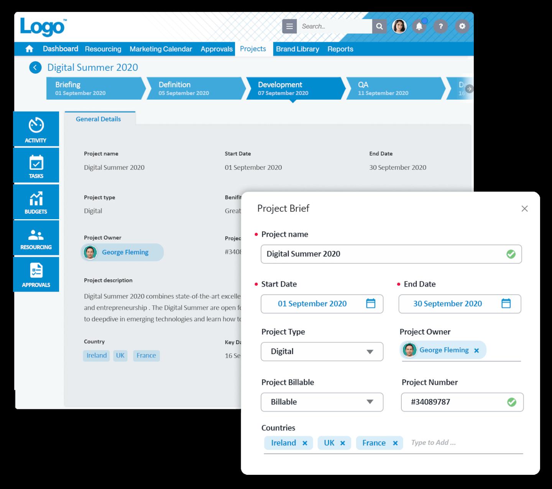 Screendragon screenshot - 15 Best Marketing Project Management Software In 2021