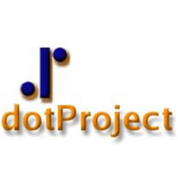 dotProject logo - 10 Best Free Gantt Chart Software Of 2021