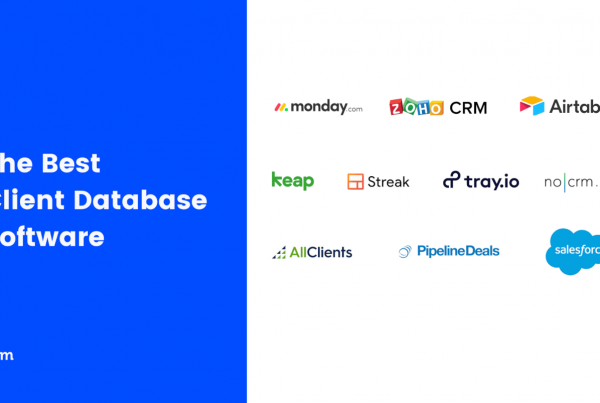 Best Client Database & Customer Database Software 2021 Featured Image