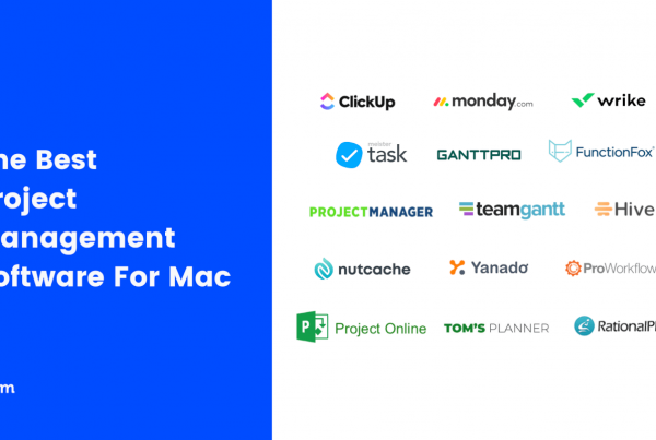 Best Project Management Software & Apps For Mac 2021 Featured Image