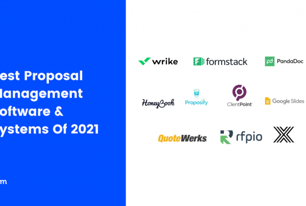 Best Proposal Management Software & Systems Of 2021 Featured Image