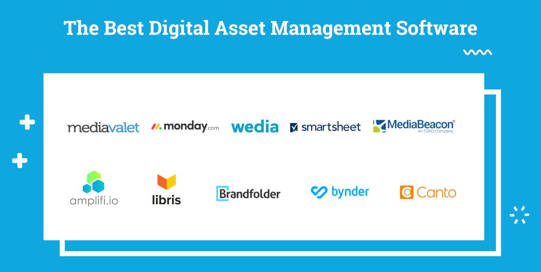 Digital Asset Management Software Logo Soup