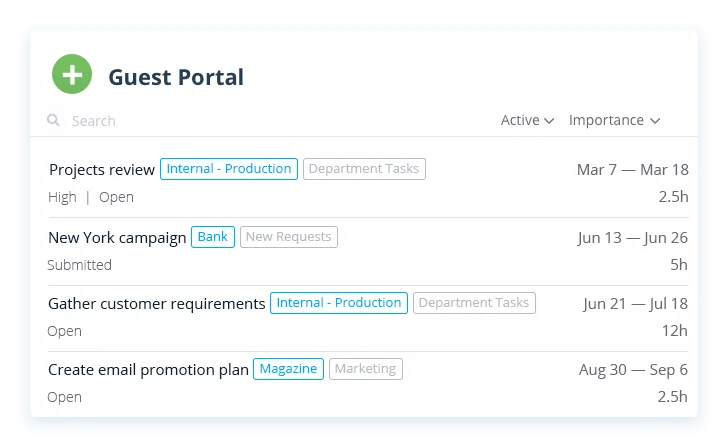 EasyProjects screenshot - 10 Best Project Management Software With Client Portals