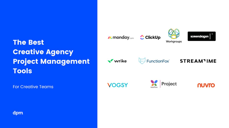 Creative Agency Project Management Software DPM Logo Soup 2021
