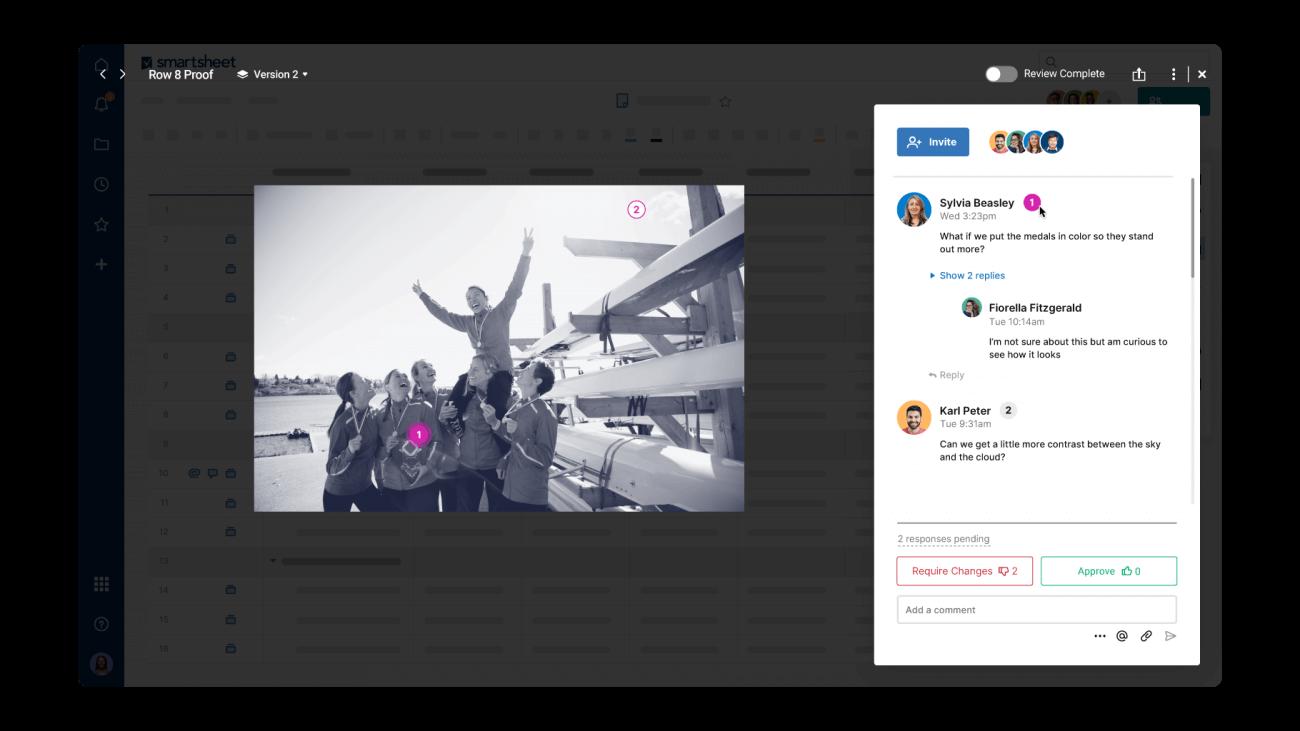 Smartsheet Screenshot 2