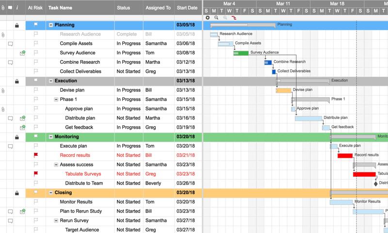 Smartsheet Screenshot 5