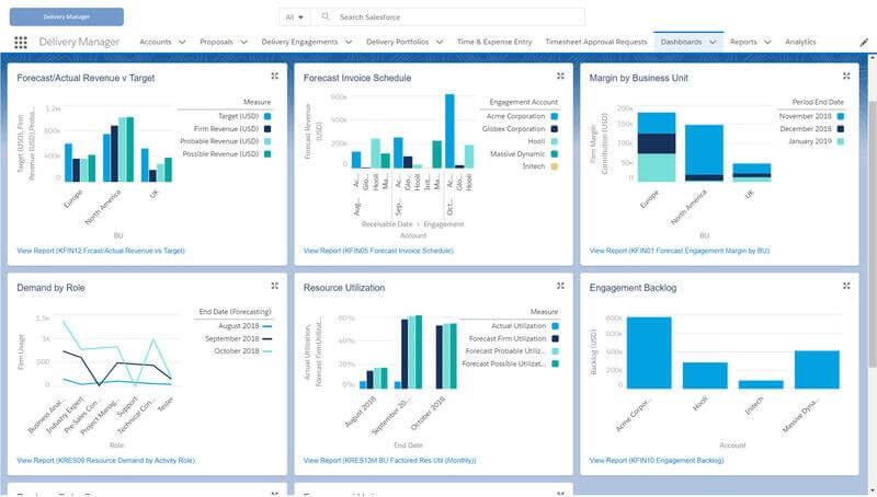 Kimble screenshot - 10 Best Professional Service Software Of 2021